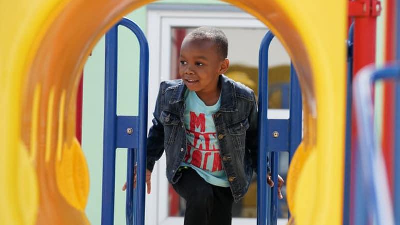 Educare Chicago outdoor playground